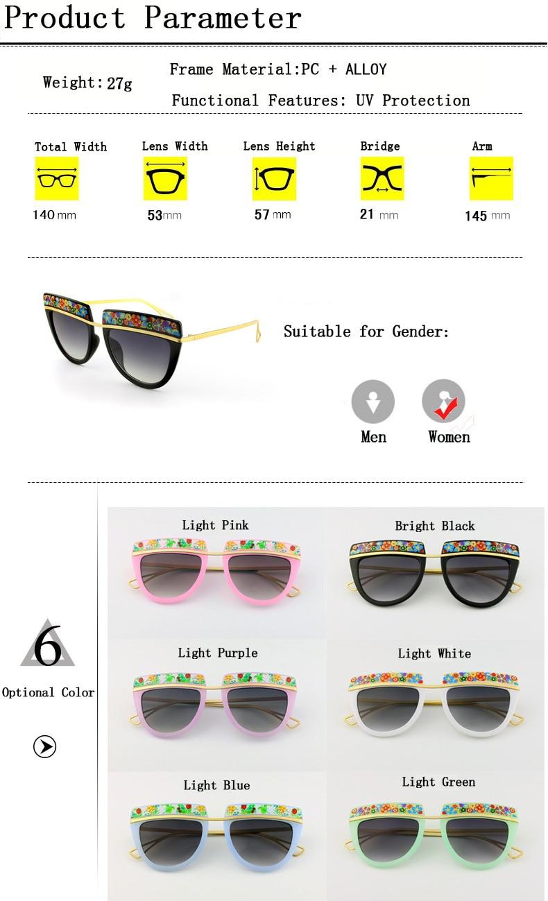 ab40b1123 ... Mulheres UV400 óculos de Sol De Vidro ao ar livre.  aeProduct.getSubject()