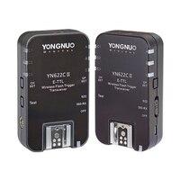 YN622C II YN 622CII E TTL Wireless HSS 1/8000S Flash Trigger Transceiver For Canon 1100D 1000D 650D 600D 550D 7D 5DII