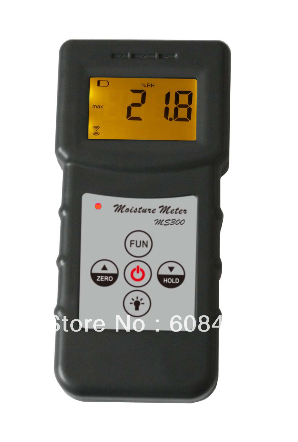 3 Pcs/Lot Inductive moisture meter measuring moisture content of wood,paper,Bamboo, concrete,metope,and other material fiber materials wooden articles tobacco cotton paper building soil and other fibre materials digital wood moisture meter mc7806