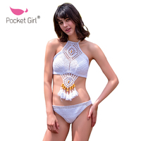 Pocket Girl 2016 Ancity Nacional Vento Europa America Sexy Woman Swimwear Bikini Define Swimsuit Lady Moda