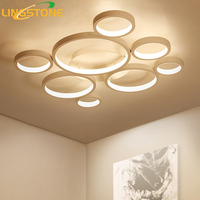 Modern Led Lamp Ceiling Lights Plafonnier Lamparas De Techo Lighting Ceiling Ring Light Living Room Bedroom