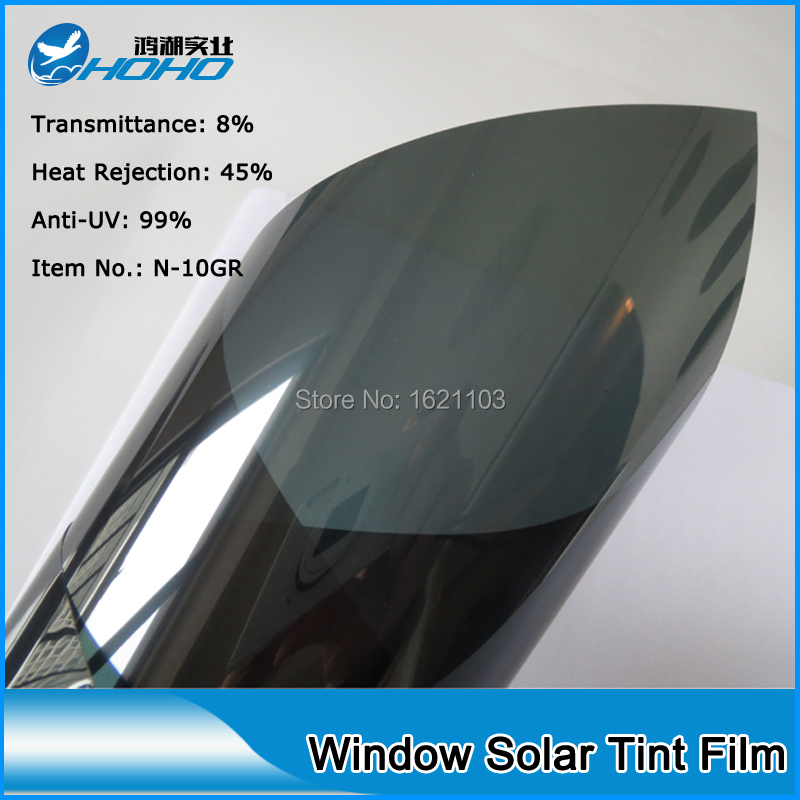 Low transmittance 8% sun's heat to provide a cool interior and low summer cooling costs Tinting Foil 3M