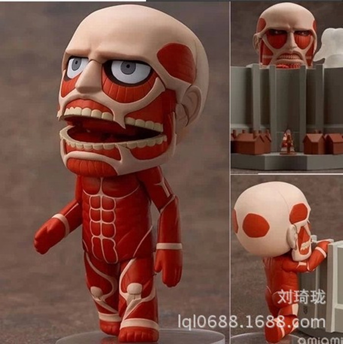 "<font><b>Cute</b></font> <font><b>Anime</b></font> 4"" Nendoroid <font><b>Attack</b></font> <font><b>on</b></font> <font><b>Titan</b></font> Shingeki no Kyojin <font><b>Hoover</b></font> PVC <font><b>Action</b></font> <font><b>Figure</b></font> Model Doll Brinquedos Toy Gift 9CM A192"