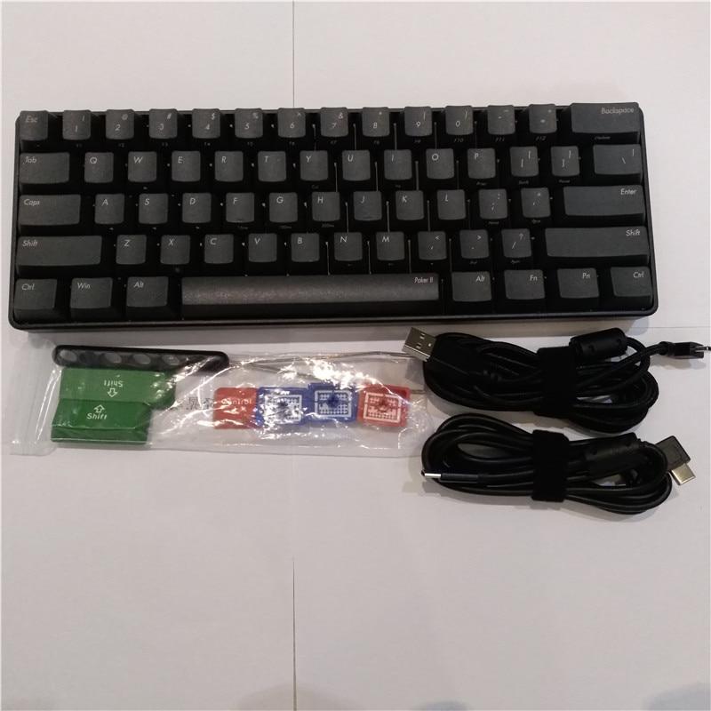 Poker2 Mechanical Keyboard USB Type-C Vortex POKER 2 Cherry Mx Brown Program Keyboard Game Keyboard
