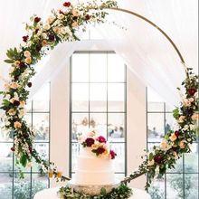 Свадебная рамка с цветами стена из искусственных цветов металлическая подставка свадебный фон Декор железная Арка пузыри декоративный венок