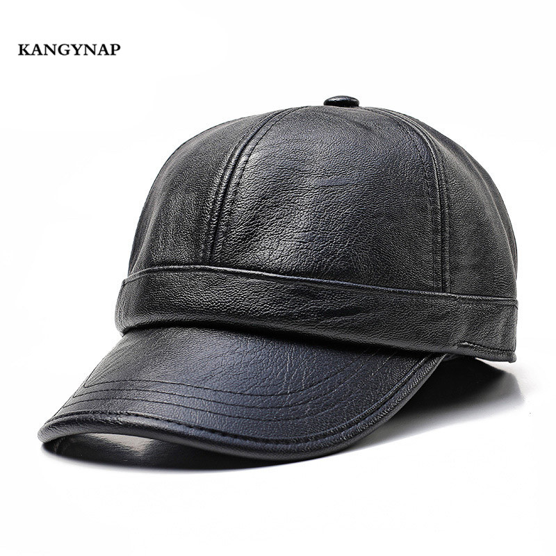 Autumn Winter Snapback-Caps Baseball-Cap Protect Fashion Mens Simple Brand Warm Solid