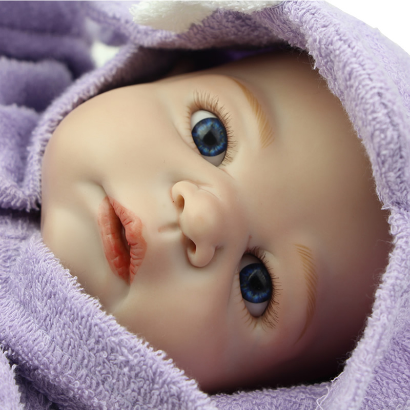 23 Collectible Soft Silicone Reborn Babies Doll Realistic Girl Doll Toy For Kids Christmas Birthday Gift