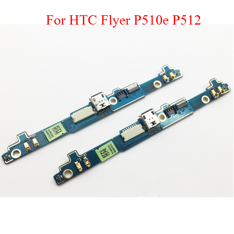 Original For HTC Flyer P510e P512 Micro USB Port Dock Charger Connector Charging Flex Cable Repair Parts
