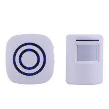 Professional Wireless Digital Doorbell with PIR Sensor Infrared Detector Inducti