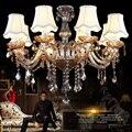 Светодиодная хрустальная люстра для дома  декоративное освещение  Светильники для гостиной  подвесные светильники  скандинавские подвесны...