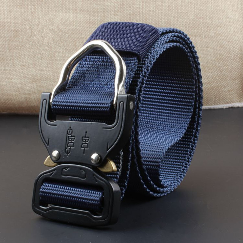 Military Equipment Army Tactical Belt Thicken Nylon Metal Buckle Waist Belt Tactical Hunting Rappelling Climbing Accessories цена 2017