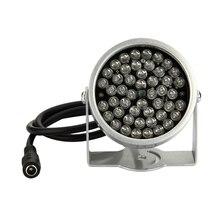 2 uds 48 LED iluminador luz CCTV infrarrojo IR lámpara de visión nocturna para cámara de seguridad Dropshipping