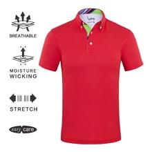 EAGEGOF человек короткий рукав Гольф футболка быстросохнущая Спортивная одежда для уличного тенниса/Гольф Обучение эластичная ткань поло рубашки