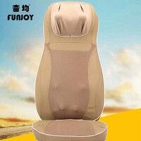 3D Electric walking type back massager vibra kneading massage multifunctional pillow neck household full body Massage chair cush