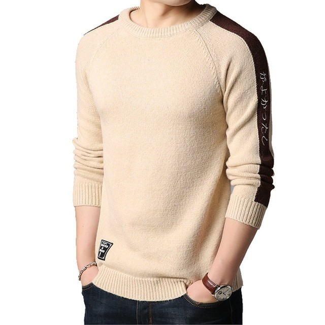 9af987530 Korea Winter New Arrivals Thick Warm Sweaters O Neck Wool Sweater ...