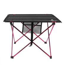 Portable Table Lightweight Folding Aluminum Ultra light Durable Table Desk for Outdoor Activity Camping Hiking