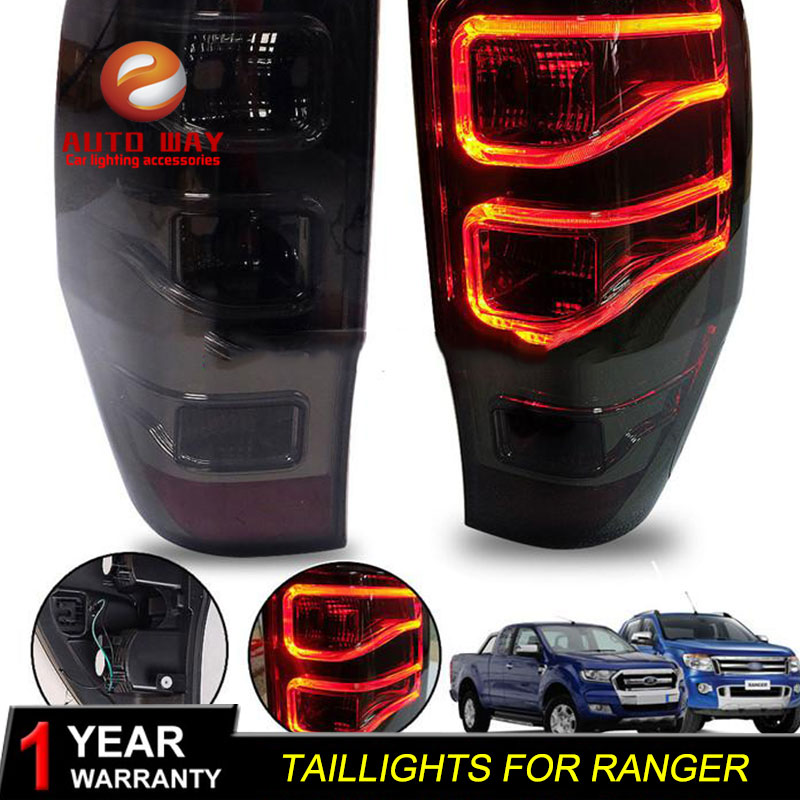 Car Styling Head Lamp for Ford Ranger mustang Taillight LED Taillight ANGEL EYES DRL Bi Xenon