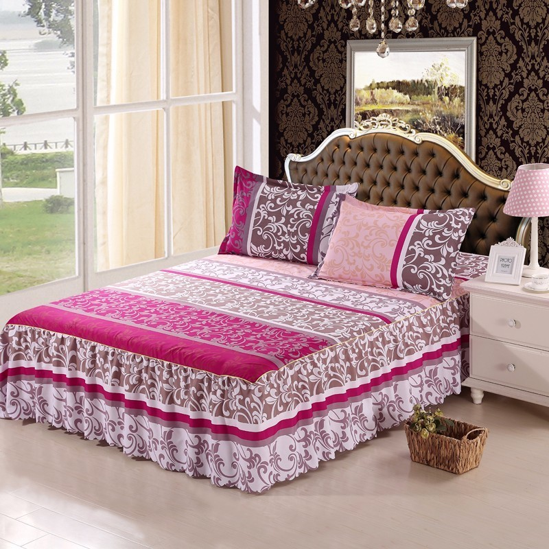 Home Textile Bed Skirt Set Bedspread Bedclothes Cover Ed Sheet Mattress Covers Cushion
