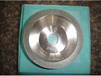 Free shipping of 1pc high quality 200# 100D*10W*5U*20H*35T alloy wheel bowl diamond grinding wheel for alloy blade sharpening  цены