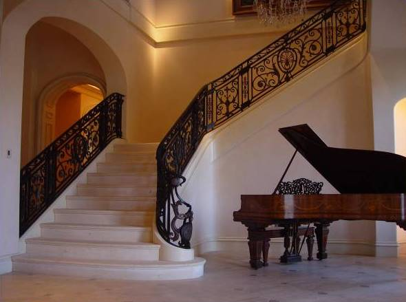 Phoenix Home Design Natural Stone Marble Staircase Manufacturer Price  Modern Marble Stair For Building