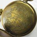 Vecchio Antico Doppia Copertura Tourbillon Fasi Lunari Orologio Da Tasca C080-in Cipolle e orologi da tasca da Orologi da polso su