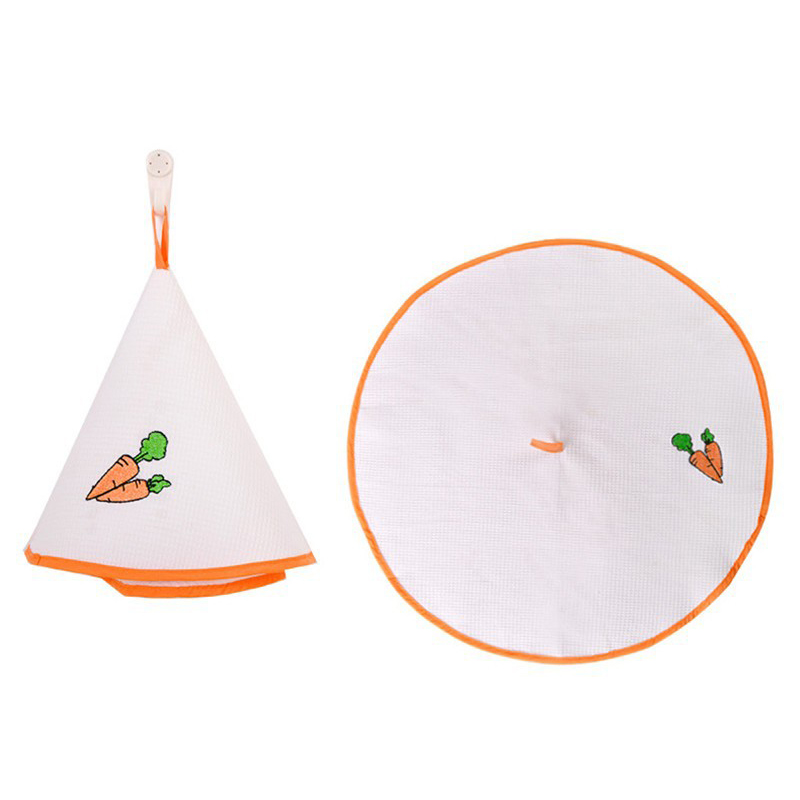 HGHO-Orange Edge Kitchen Towel 100% Cotton Hand Towel Embroidered Face Cloths For Kitchen Bathroom Office Car Use