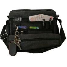 New Fashion Multi-pocket Luggage Large Capacity Tote Bag Multi-functional Men Women Handbag Sundry Pad Phone Card Storage Bag