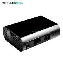 Für Raspberry Pi 3 Modell B Plus Für Raspberry Pi 3 2 Schwarz Fall Abdeckung Shell Gehäuse Box ABS box diy Elektronische Modul