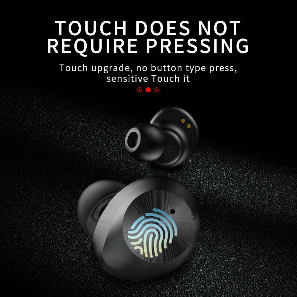 TWS-9 Bluetooth 5.0 Ô Tô Không Dây Tai Nghe Nhét Tai Mini Hai Tai Tai Nghe Chụp Tai Cảm Ứng TWS Tai Nghe Bluetooth Cho Dành Cho tất cả các điện thoại Thông Minh/Máy Tính Xách Tay/ máy tính bảng