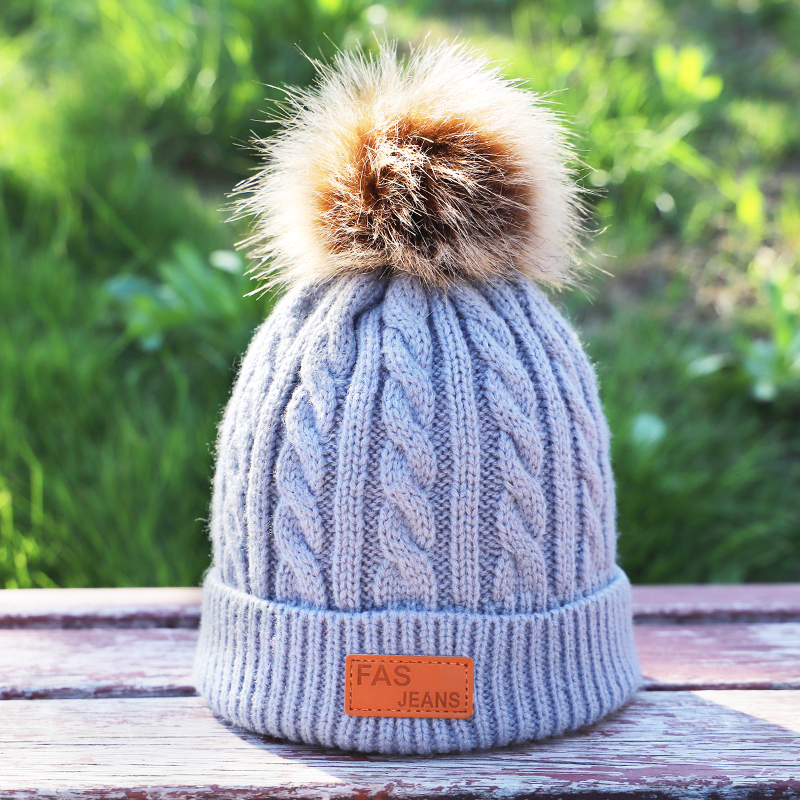 Men's Skullies & Beanies New Fashion 2019 Womens Mens Kinnted Cap Unisex Warm Cotton Winter Autumn Hat Casual Design Boy Soft Free Ski Cap For Children