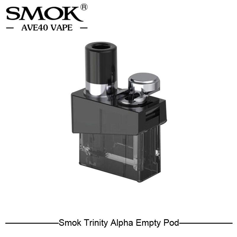 Original Smok Trindade Alpha Substituição Vazio Atomizador Capacidade de 2.8ml Para SMOK Trindade Alpha Pod Pod Sistema Kit VS Nord novo Pod
