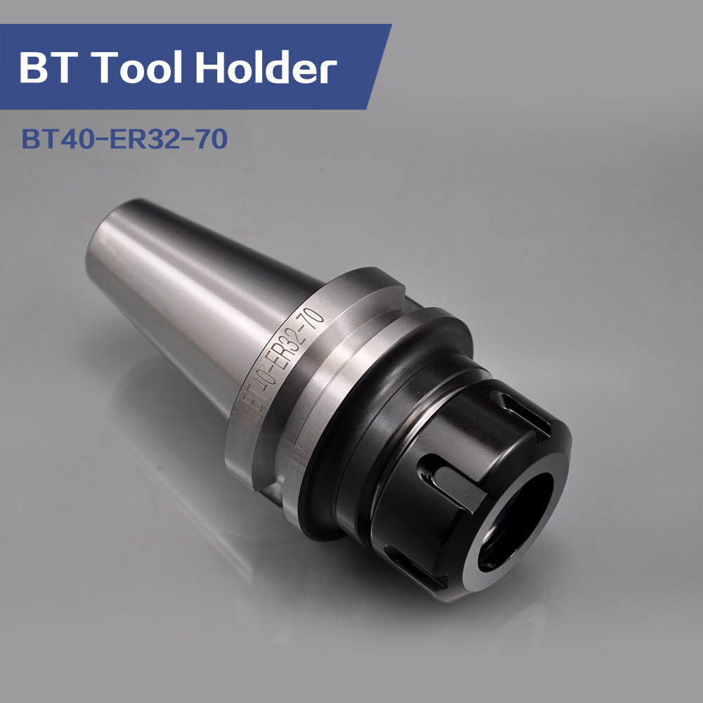 Купить с кэшбэком MAS 403 Machine Tools Accessory BT40-ER32-70 ER Tool Holder Adapter Milling Arbor ER Collet Chuck For CNC Machining Center