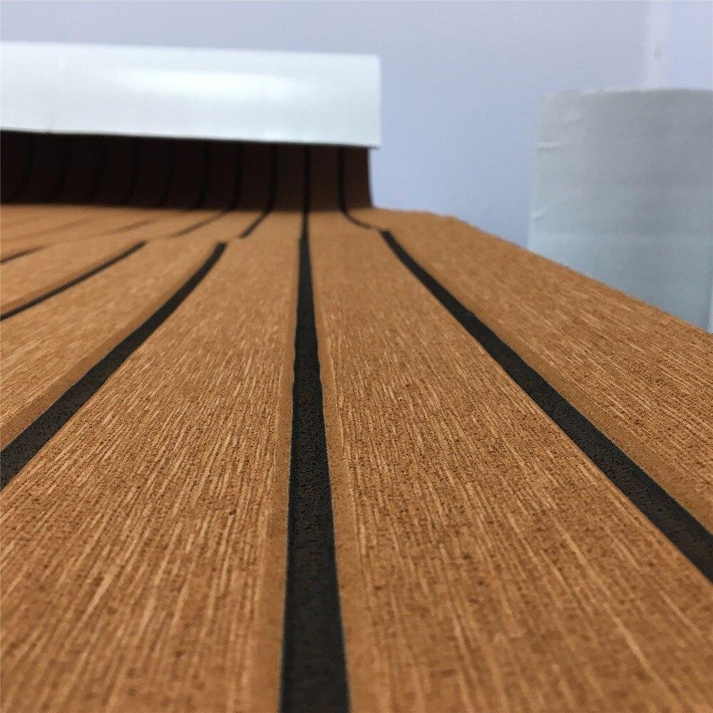 Nova folha de decking teca para barco