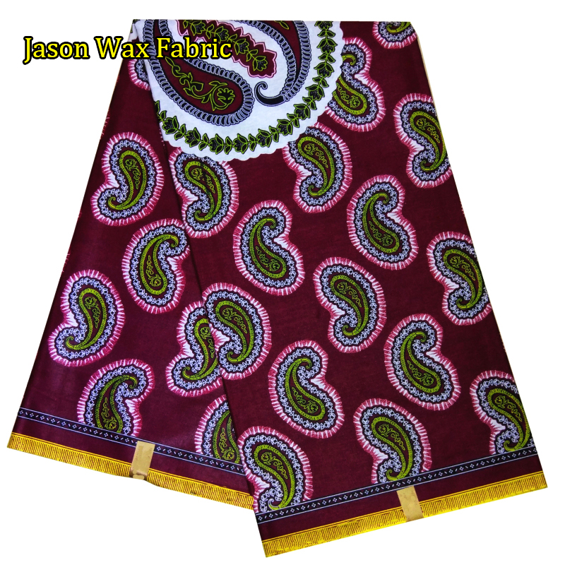 African super java wax prints fabric 2017 Guaranteed super Java 100% cotton fabric 6yards/piece for dress LBL