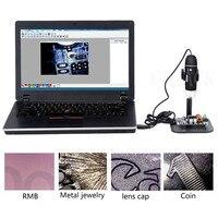 New Portable USB 1000X Digital Microscope 8 LED 2 0 MP Endoscope Magnifier Camera W Lift
