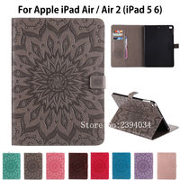 Fashion Tablet Cover For Apple IPad Air Air2 Case High Quality PU Leather Stand Case For