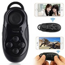 Mini Gamepad Bluetooth Game Controller Joystick Selfie Remote Wireless Mouse For iOS Android Smartphone TV Box