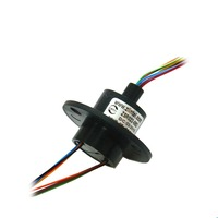 ZSR022 08D Monitoring Gimbal Slip Ring 8 Channle 2A 22mm Out Diameter Capsule Electrical Collection Slip