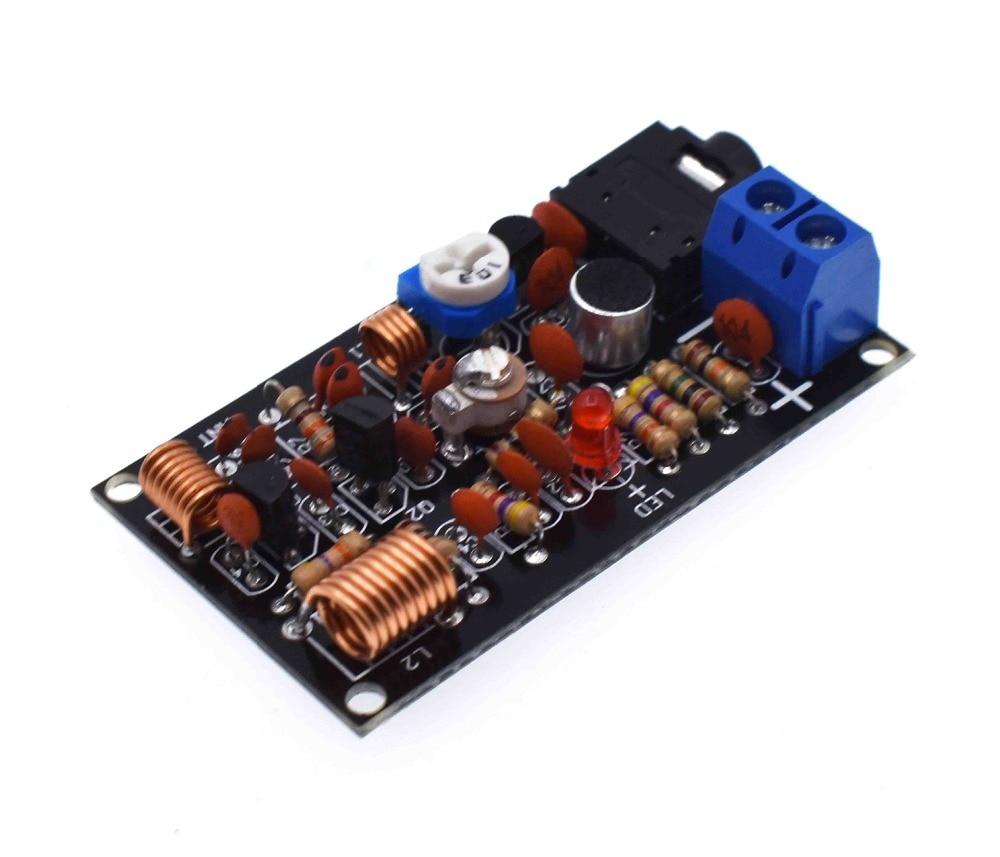 FM wireless microphone FM radio transmitter kit electronic training kit DIY primary experimental parts