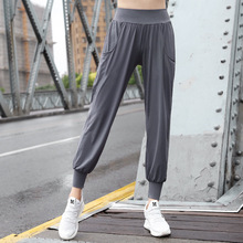 100kg Can Wear Autumn Women Yoga Pants Elastic High Waist Sweatpants Bloomers Running Jogger Fitness Gym Sport Pant Sportswear