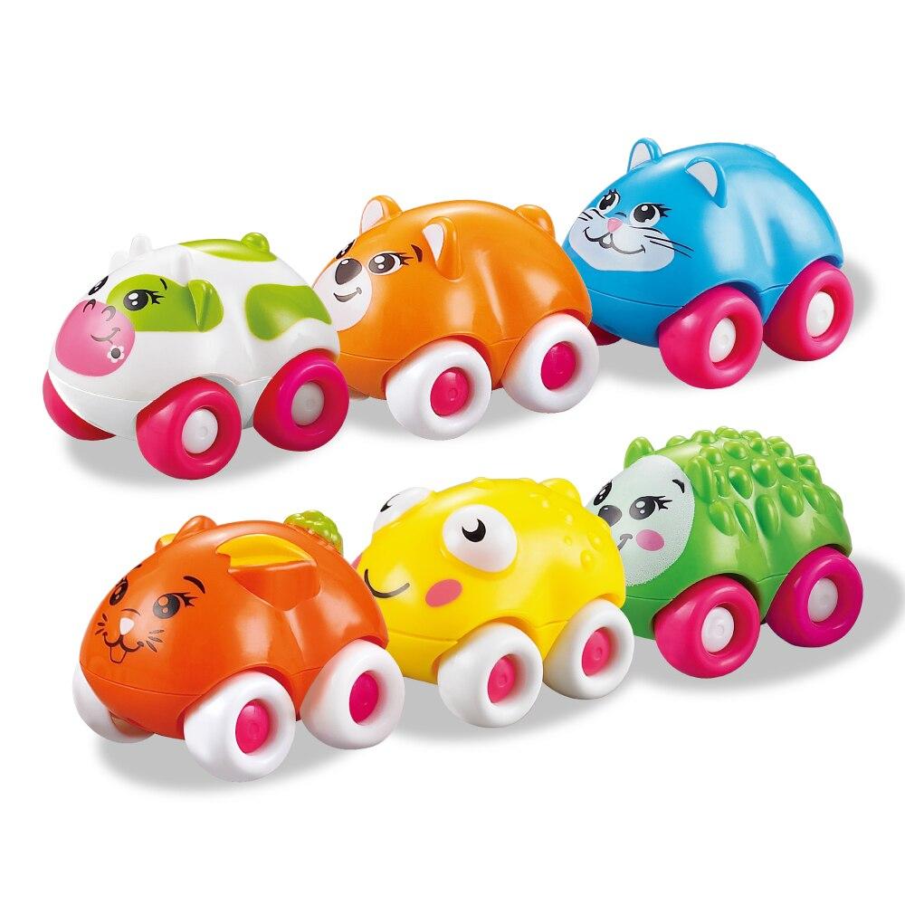 Baby Oyuncaqlar 8PCS Sürüşən Avtomobil Maqnit Oyuncaqlar Şirin - Oyuncaq nəqliyyat vasitələri - Fotoqrafiya 4