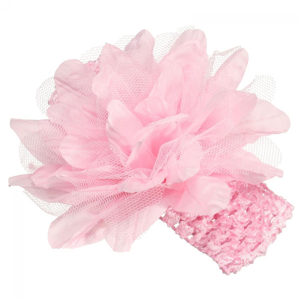 1PC Kids Girls Headband Lace Bow Big Flower Halloween Birthday Party Headdress   Headwear   Hairband Hair Band Accessories