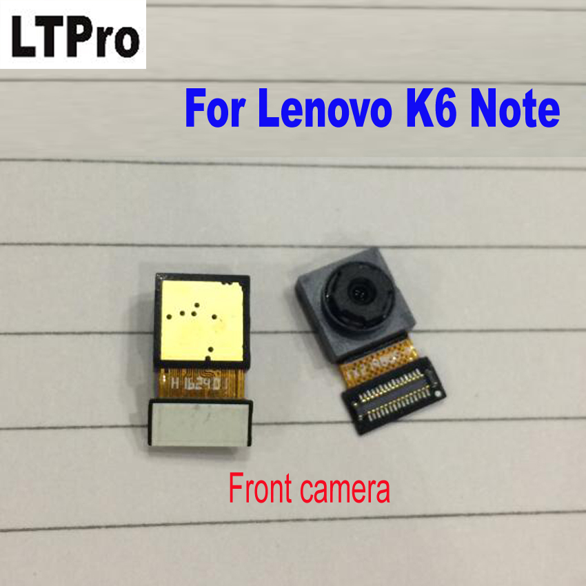 LTPro TOP Quality Small Front camera Module Flex Cable For Lenovo K6 Note phone Replacement Repair Parts