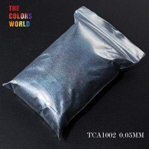 Image 4 - TCT 069 24 najlepsze 0.05MM rozmiar holograficzny kolor najmniejszy rozmiar brokatowy proszek do paznokci, Tatto artystyczna dekoracja makijaż diy farba