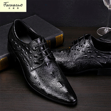 Italian Designer Black Brown Brogue Shoes Genuine Leather Lace Up Men Formal Dress Oxfords Party Office Wedding