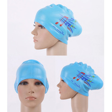 Silicone Long Hair Swimming Cap