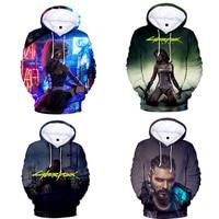 Cyberpunk 2077 Hoodie Sweatshirt for Men Women Kid 3d Print Clothes Cyber Punk Clothing