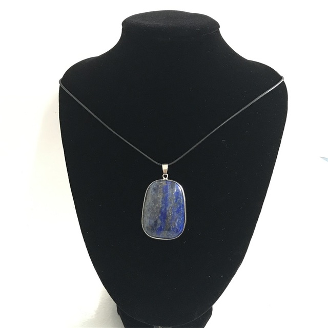 Slide silver navy blue big lapis lazuli pendant necklace 4030mm aaa slide silver navy blue big lapis lazuli pendant necklace 4030mm aaa natural egyptian square aloadofball Choice Image
