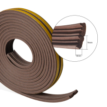 5meters E type Door and Windows seal strip Sound insulation niose dustproof weatherproof good