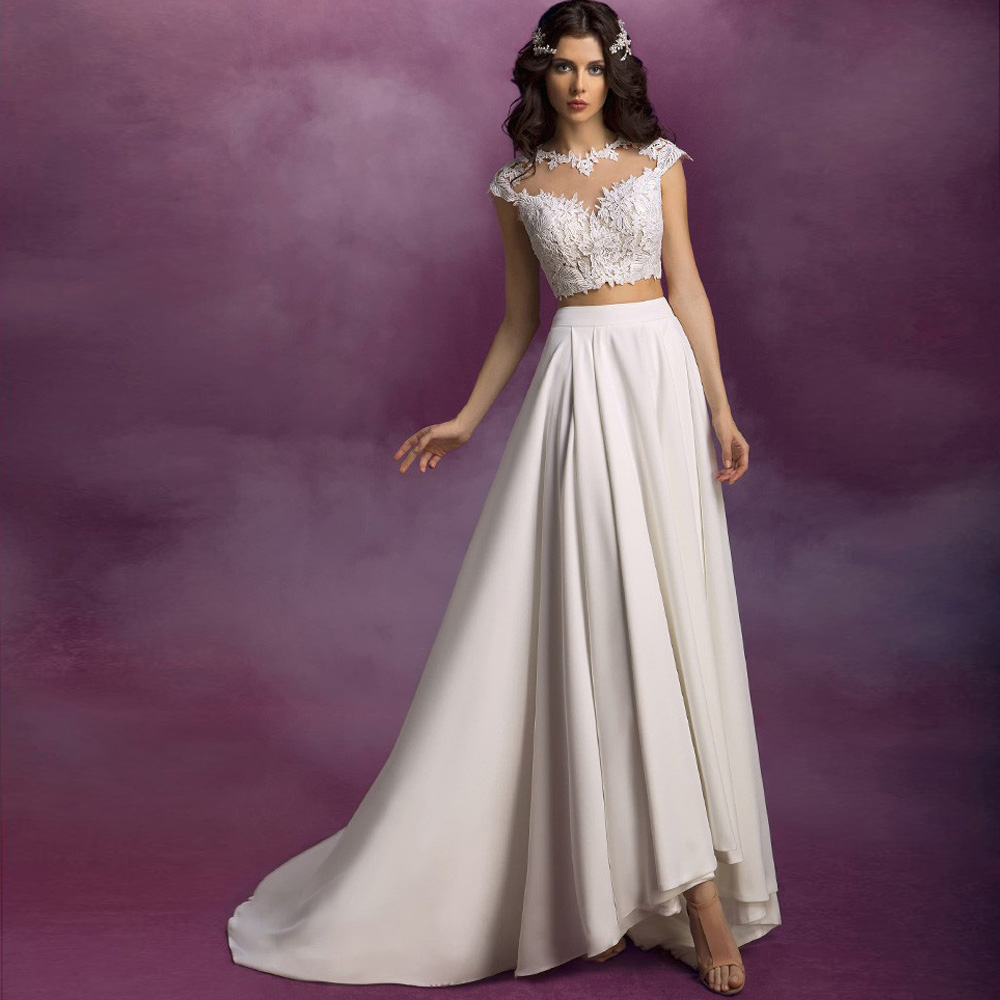 rosa clara bridal collection wedding dress 2 piece Rosa Clara Bridal Collection
